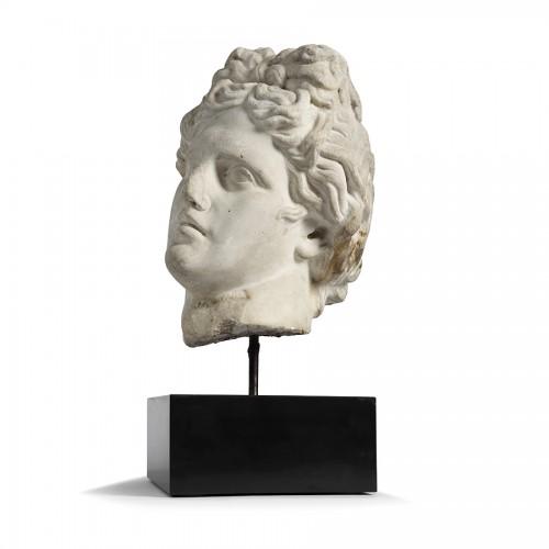 17th century - Marble head - Italy 17th century
