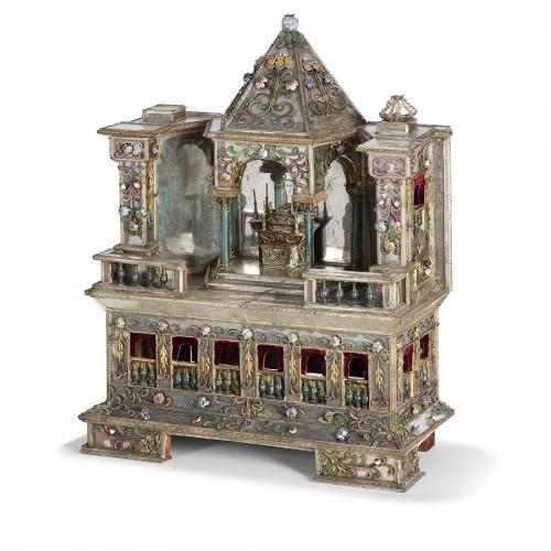 Autel miniature - Venise 18e siècle - Curiosities Style