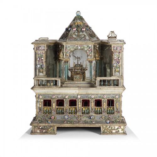 Curiosities  - Autel miniature - Venise 18e siècle