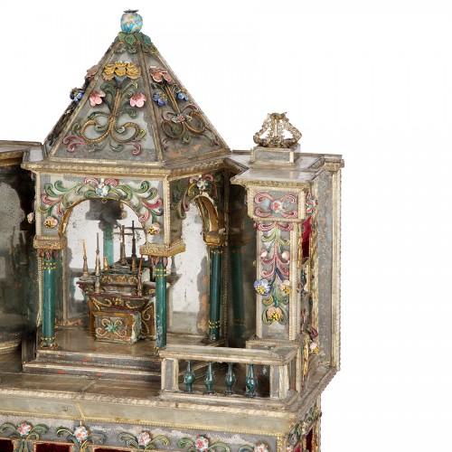 Autel miniature - Venise 18e siècle -