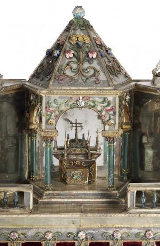 18th century - Autel miniature - Venise 18e siècle