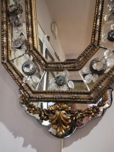 Mirrors, Trumeau  - Pair of italians mirrors, 19th century
