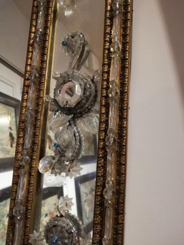 Pair of italians mirrors, 19th century -