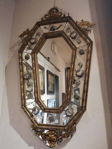 - Pair of italians mirrors, 19th century