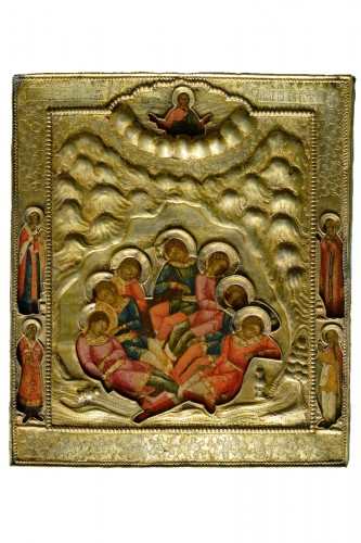 Icon - The seven sleppers of Ephesus