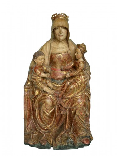 Saint Anne with Virgin and child, circa 1500-20