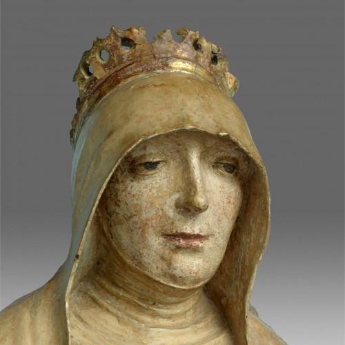 Sculpture  - Saint Anne with Virgin and child, circa 1500-20