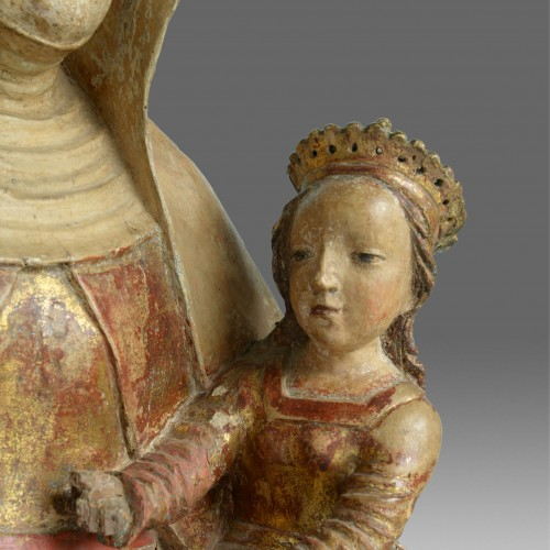 Saint Anne with Virgin and child, circa 1500-20 -