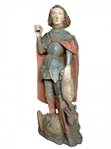 Saint Michael, Northern Germany circa 1460