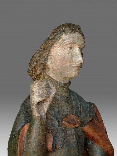 Sculpture  - Saint Michael, Northern Germany circa 1460