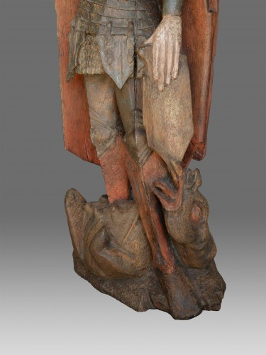 16th century - Saint Michael, Northern Germany circa 1460