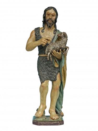 Saint John the Baptist, Northern Italy circa 1520- 40