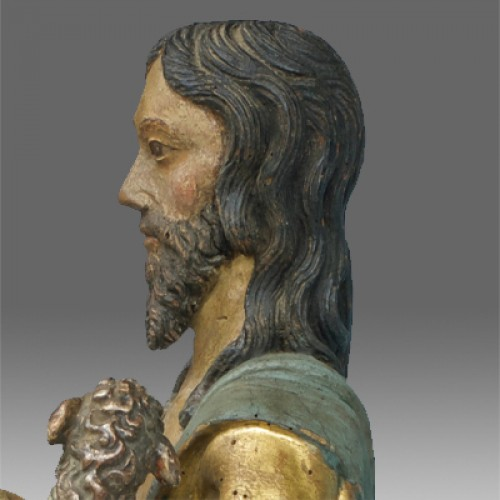 16th century - Saint John the Baptist, Northern Italy circa 1520- 40