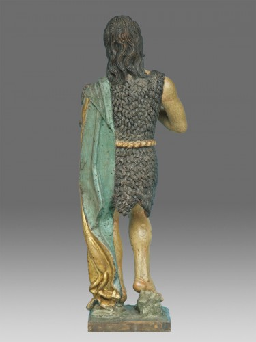 Saint John the Baptist, Northern Italy circa 1520- 40 - Middle age
