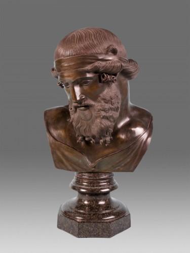 Bust of Platon - Sculpture Style Napoléon III