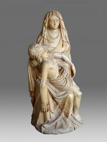 Pieta 15th century - Sculpture Style Middle age