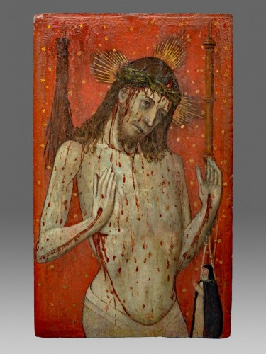 Ecce Hom, Italy circa 1400 - Paintings & Drawings Style Middle age