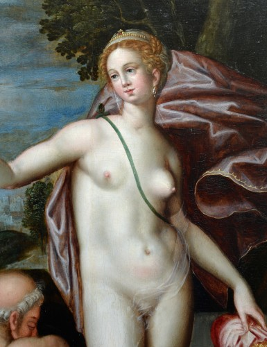 Paintings & Drawings  - Allegory with Juno and Saturn