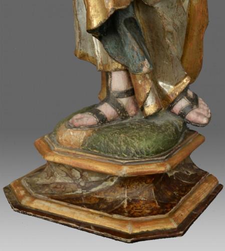 Sculpture Saint Joseph with child -