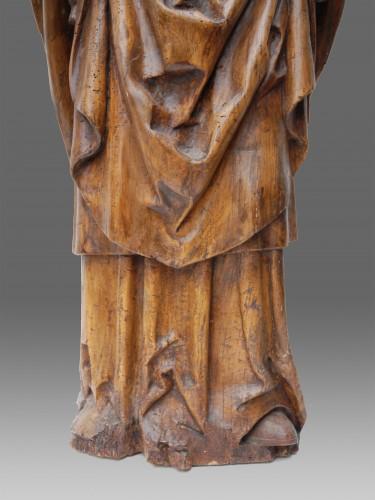Sculpture  - Pontiff Northern France 16th Century