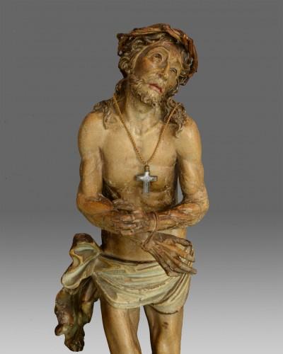 Christ suffering around 1650 - Sculpture Style Renaissance