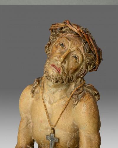 Sculpture  - Christ suffering around 1650