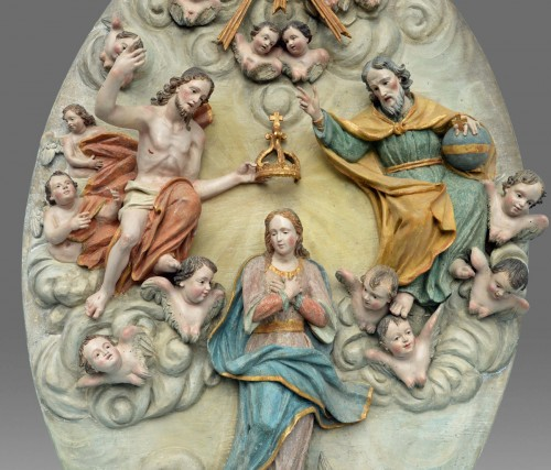 Sculpture  - Coronation of the Virgin Mary