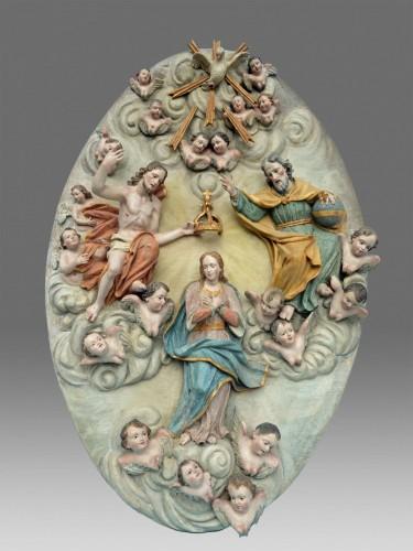 18th century - Coronation of the Virgin Mary