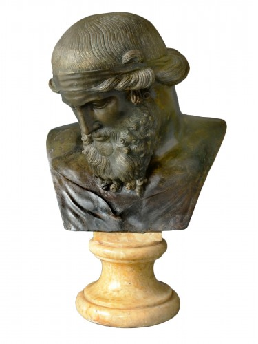Bust of Dionysos / Plato