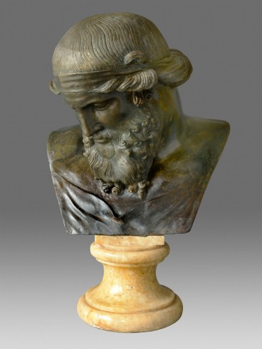 Bust of Dionysos / Plato -
