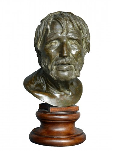 Bust of Seneca Naples 19th Century