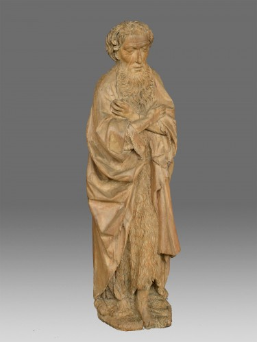 Sculpture of Saint John around 1500 - Sculpture Style Middle age
