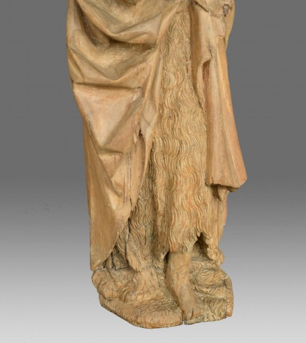 Sculpture of Saint John around 1500 - Middle age