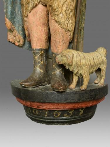 Sculpture of Saint John dated 1639 - Sculpture Style