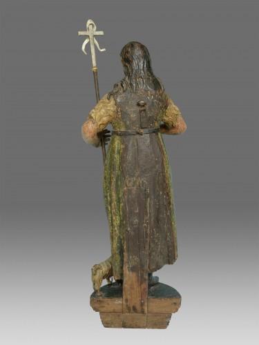 17th century - Sculpture of Saint John dated 1639
