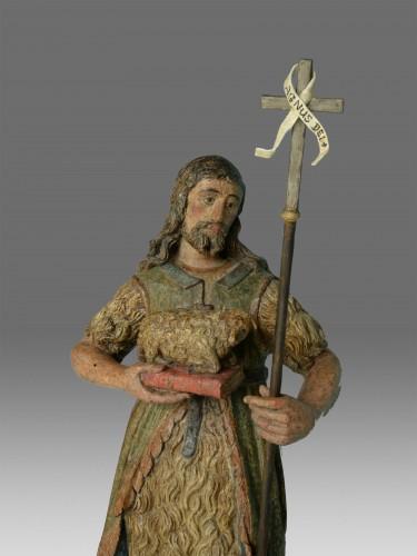 - Sculpture of Saint John dated 1639