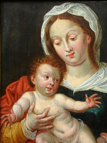 16th century - Maria with the Child