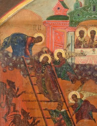 Religious Antiques  - Sky ladder of St. John Climakos