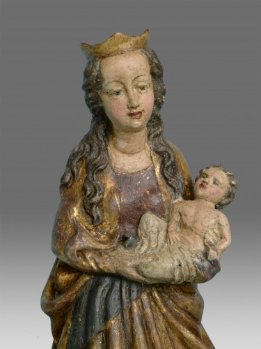 Virgin with the child -