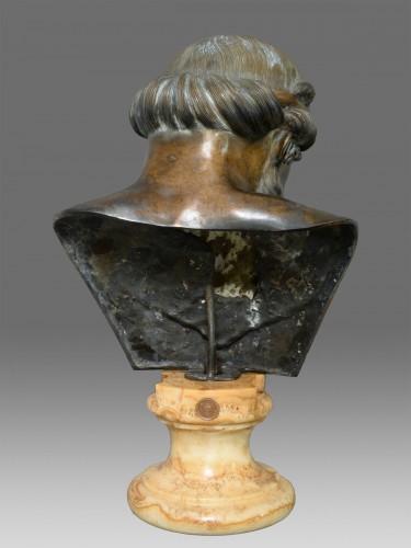 Bust of bronze of Dionysos / Plato - Sculpture Style Napoléon III