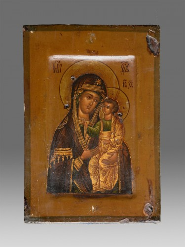 Religious Antiques  - Virgin Hodegetria Icon