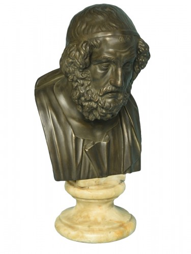 Bust of Philosopher Homer