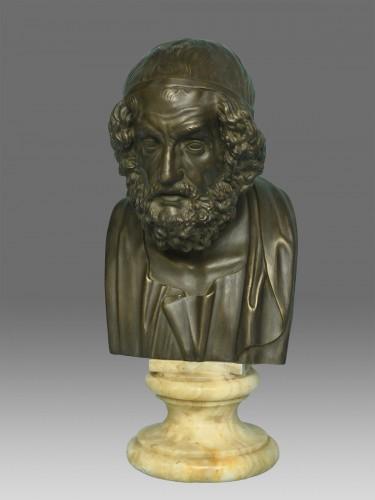 Sculpture  - Bust of Philosopher Homer