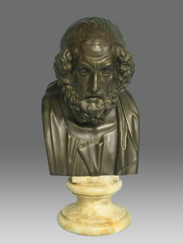 Bust of Philosopher Homer -