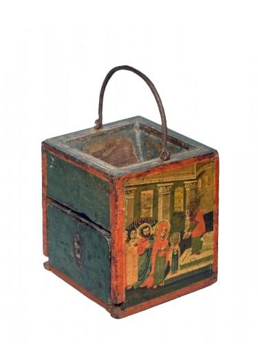 Greek offertory box end of 18th century