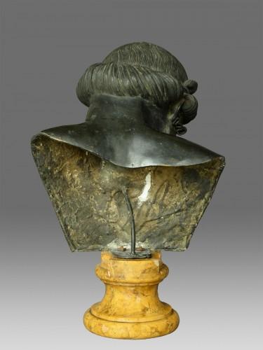 Bronze bust of Dionysus / Plato circa 1880 -