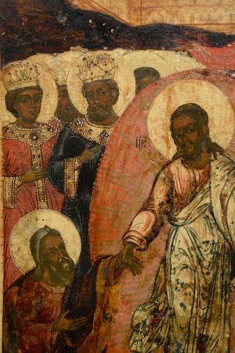 Icône tour de l'enfer du Christ vers 1650 - Renaissance
