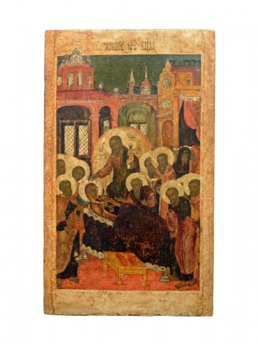 Icon of the Dormition of the Virgin circa 1650-80