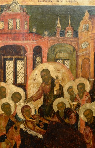 18th century - Icon of the Dormition of the Virgin circa 1650-80