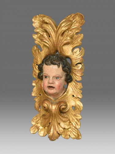 Pair of  angels  about 1680- 1700 -